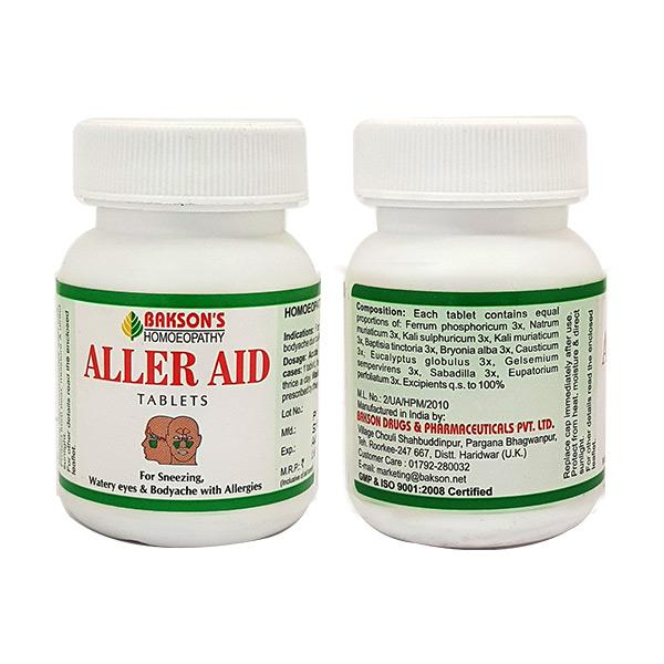 Bakson's Aller Aid Tablet 75 gm