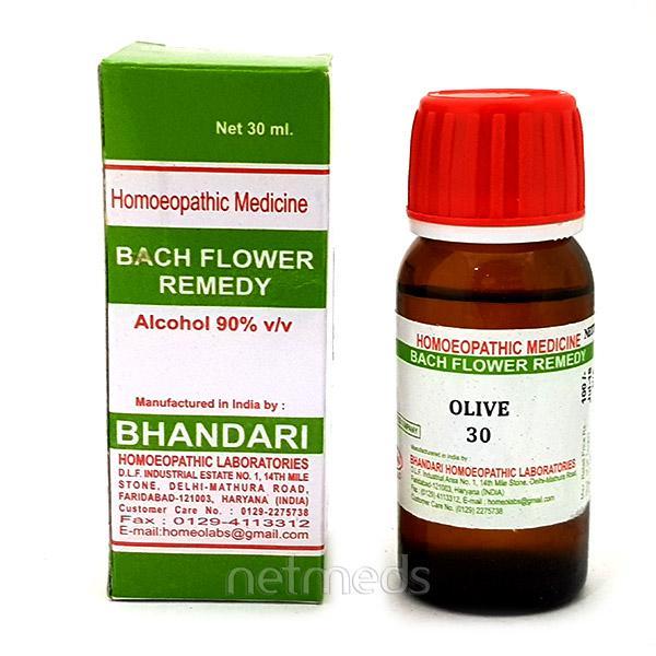 Bhandari Bach Flower Olive 30 Liquid 30 ml