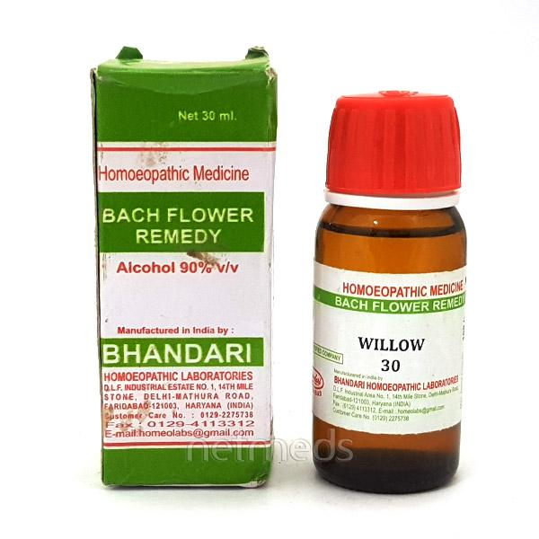 Bhandari Bach Flower Willow 30 Liquid 30 ml