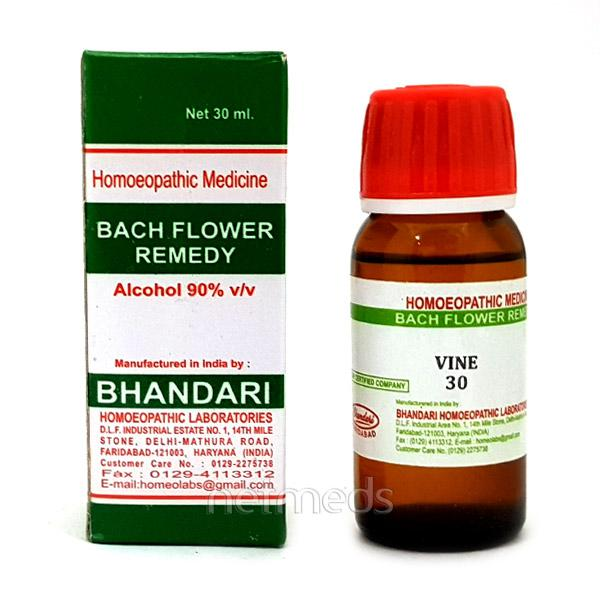 Bhandari Bach Flower Vine 30 Liquid 30 ml