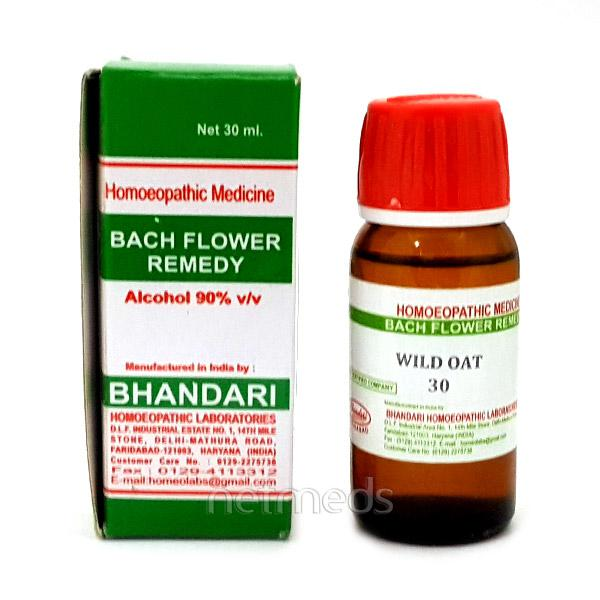 Bhandari Bach Flower Wild Oat 30 Liquid 30 ml