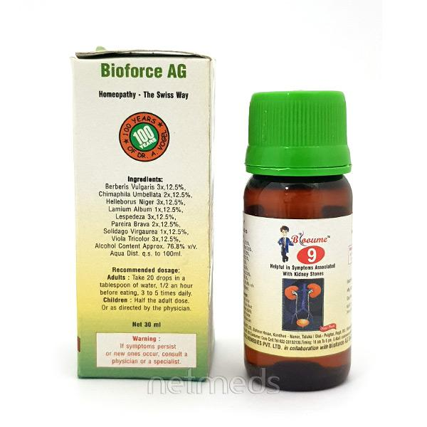 Bioforce Blooume 9 Cystosan Drops 30 ml