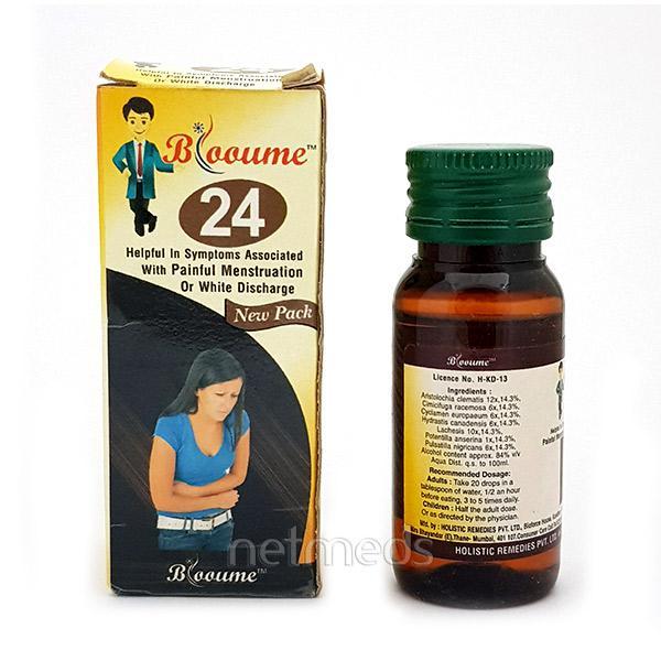 Bioforce Blooume 24 Menstrusan Drops 30 ml