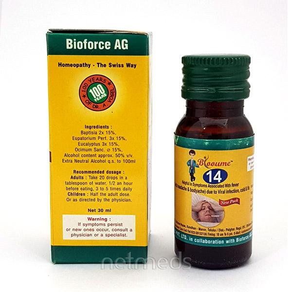 Bioforce Blooume 14 Fever Care Drops 30 ml