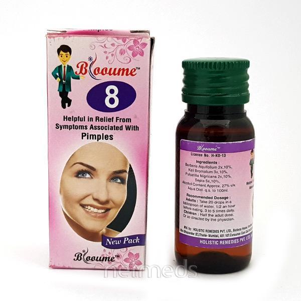 Bioforce Blooume 8 Clerskin Drops 30 ml