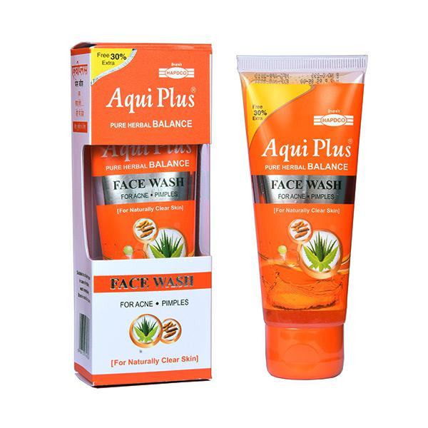 Hapdco Aqui Plus Face Wash 50 gm