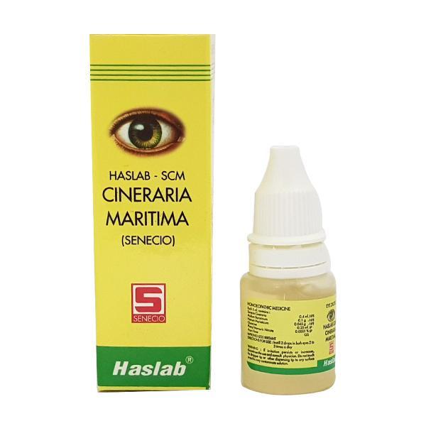 Haslab Scm Cineraria Maritima Eye Drops 10 ml