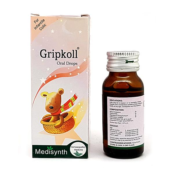 Medisynth Gripkoll Gripe Drops 30 ml