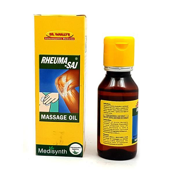 Medisynth Rheuma-Saj Massage Oil 60 ml