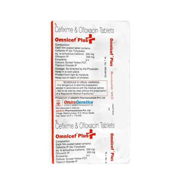 Omnicef Plus Tablet 10'S