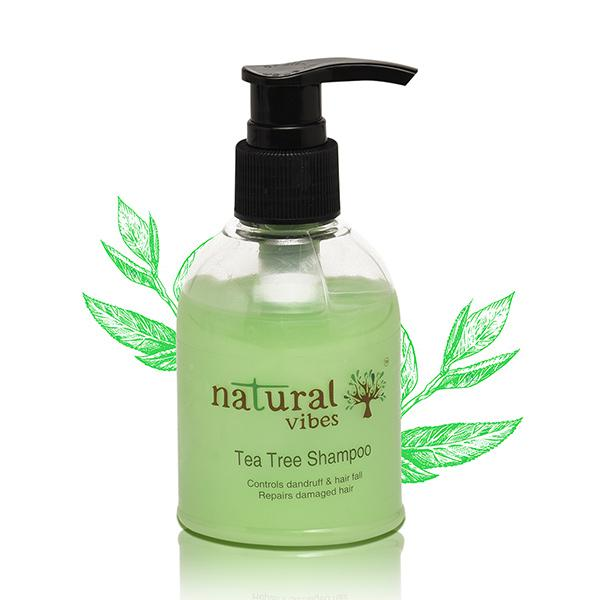 Natural Vibes Ayurvedic Tea Tree Shampoo 150 ml