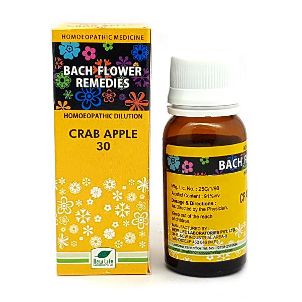 New Life Bach Flower Crab Apple 30 Liquid 30 ml