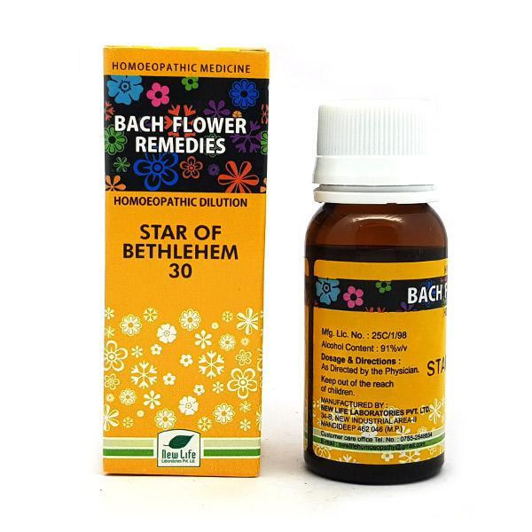 New Life Bach Flower Star Of Bethlehem 30 Liquid 30 ml