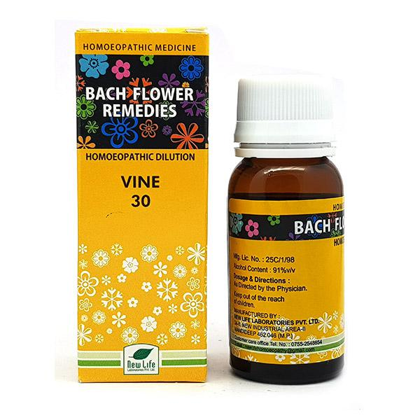 New Life Bach Flower Vine 30 Liquid 30 ml