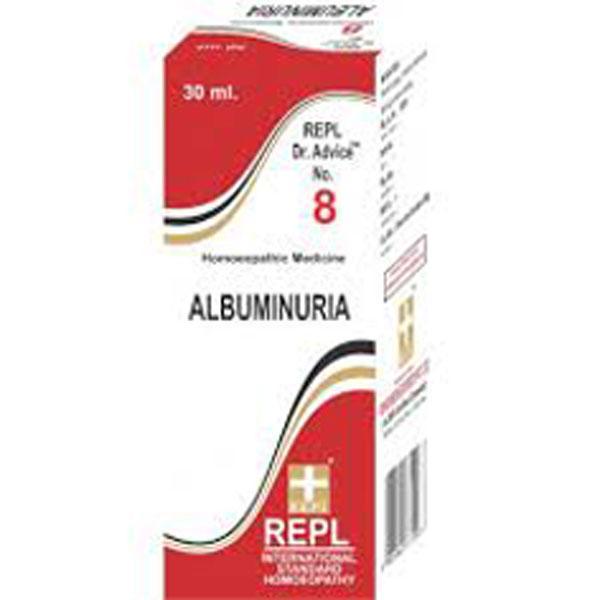 Repl Dr. Advice No.8 Albuminuria Drops 30 ml