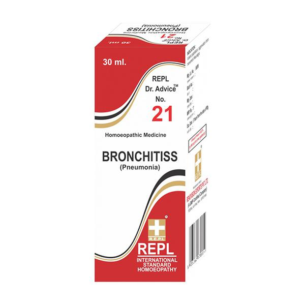 Repl Dr. Advice No.21 Bronchitis Drops 30 ml