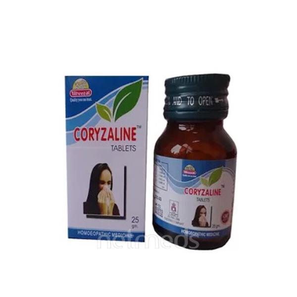 Wheezal Coryzaline Tablet 25 gm