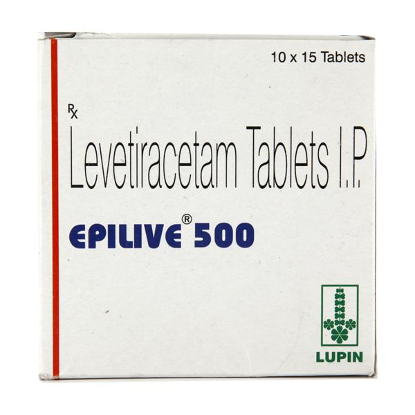 Epilive 500mg Tablet 15'S