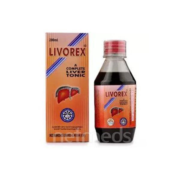 Rex Livorex Syrup 200 ml