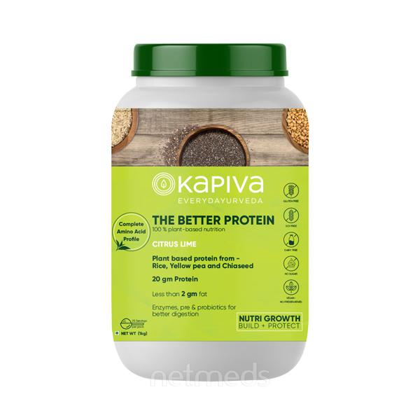 Kapiva The Better Protein Powder - Citrus Lime 1 kg