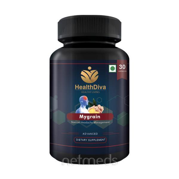 HealthDiva Mygrain Caplets 30's