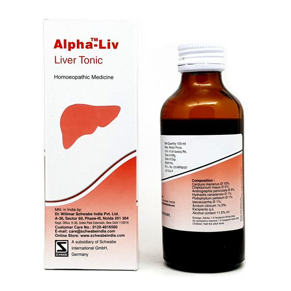 Dr. Willmar Schwabe Alpha - Liver Tonic 100 ml