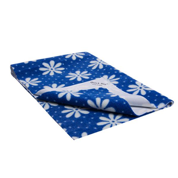 Quick Dry Baby Bed Protector - Regular Print (M)