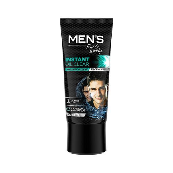 Fair & Lovely Men's Instant Oil Clear Magnet Action Face wash 50 gm