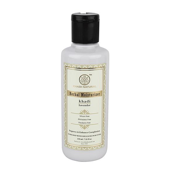 Khadi Natural Herbal Moisturizer - Lavender 210 ml
