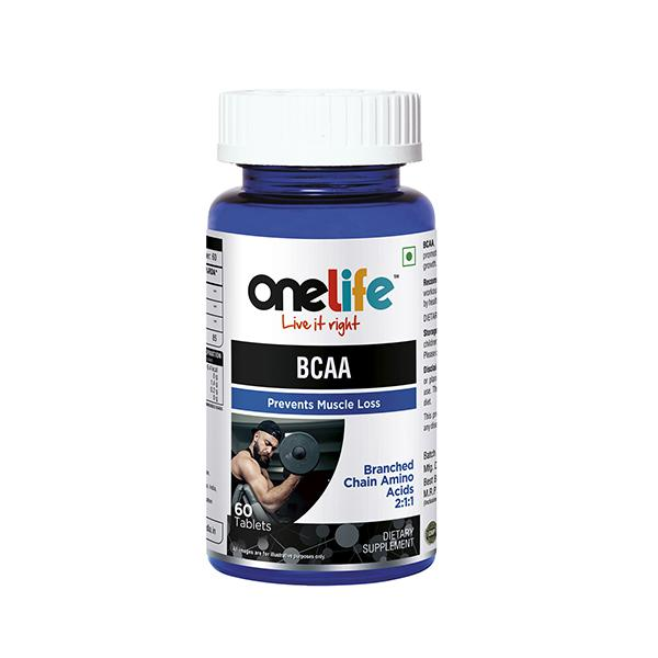 Onelife BCAA (Prevents Muscle Loss) Tablet 60's