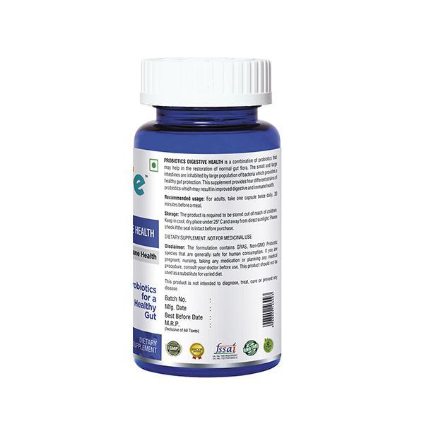 Onelife Probiotics Digestive Health Vegetarian Capsule 60's