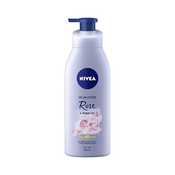 Nivea Oil In Lotion Rose & Argan Oil for Dry Skin 400 ml