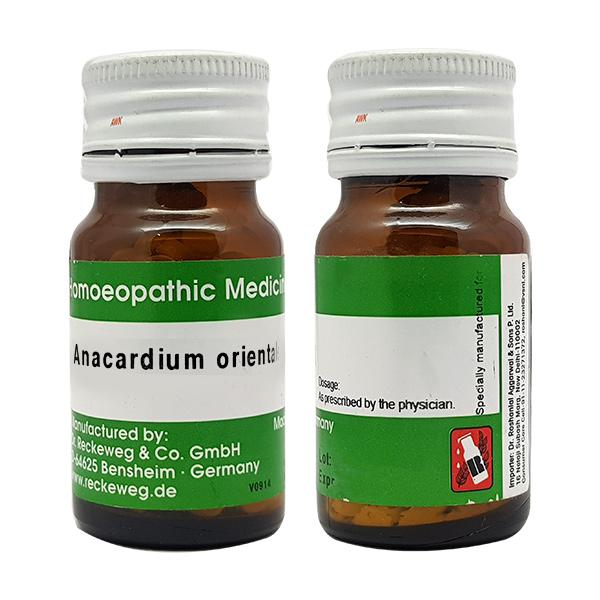 Dr. Reckeweg Anacardium Orientale 3X Tablet 20 gm