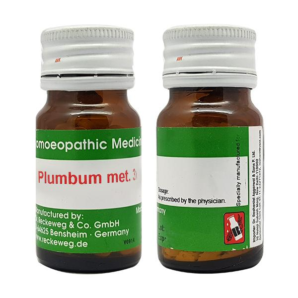 Dr. Reckeweg Plumbum Metallicum 3X Tablet 20 gm