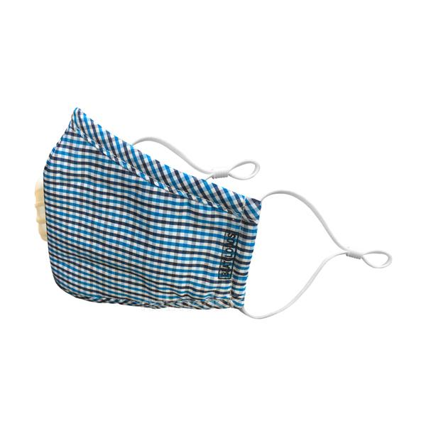 Beatclouds Carbon Activated Cotton Mask with Breathing Valve (N95) - Blue