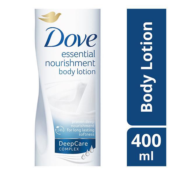Dove Essential Nourishment Body Lotion 400 ml