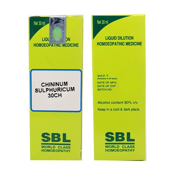 SBL Chininum Sulphuricum 30 Liquid 30 ml