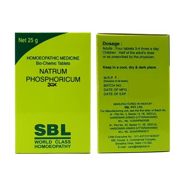 SBL Ferrum Phosphoricum 30X Tablet 25 gm
