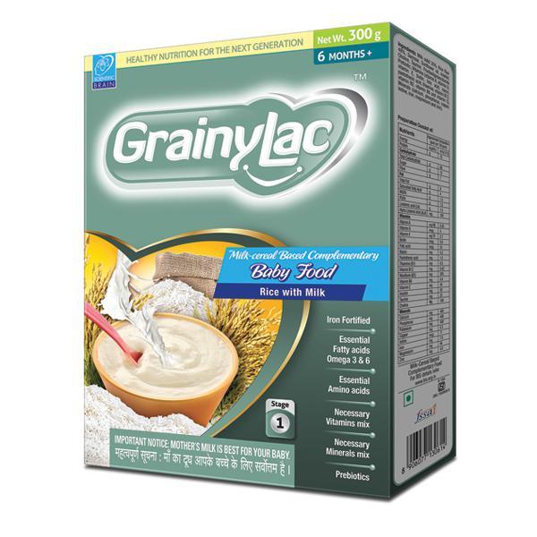 Grainylac (6+ Months) Rice with Milk 300 gm