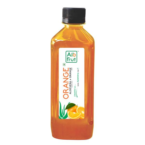 Axiom Alofrut Orange Aloevera Juice 200 ml