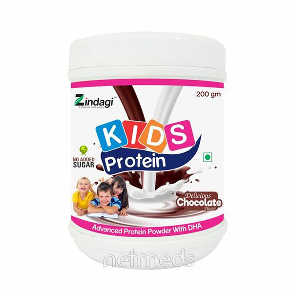 Zindagi Kids Protein Powder - Delicious Chocolate Flavour 200 gm