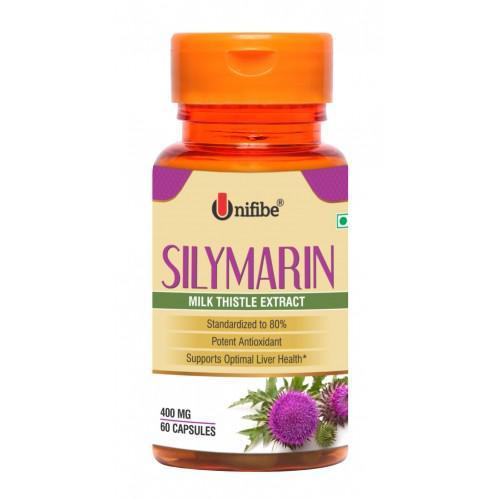 Unifibe Silymarin Milk Thistle Extract 400 mg Capsule 60's