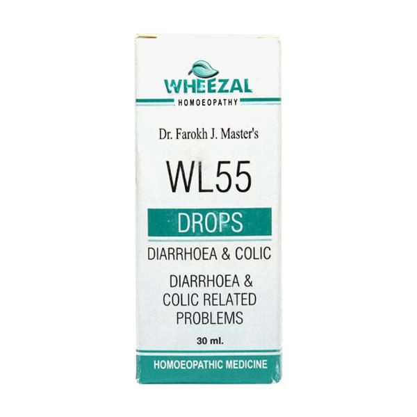 Wheezal Wl-55 Diarrhoea & Colic Drops 30ML