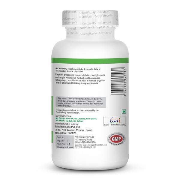 Zenith Nutrition Silymarin Milk Thistle 400mg Capsule 120's
