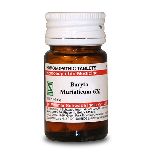 Dr.Willmar Schwabe Baryta Muriaticum 6X Tablet 20 gm