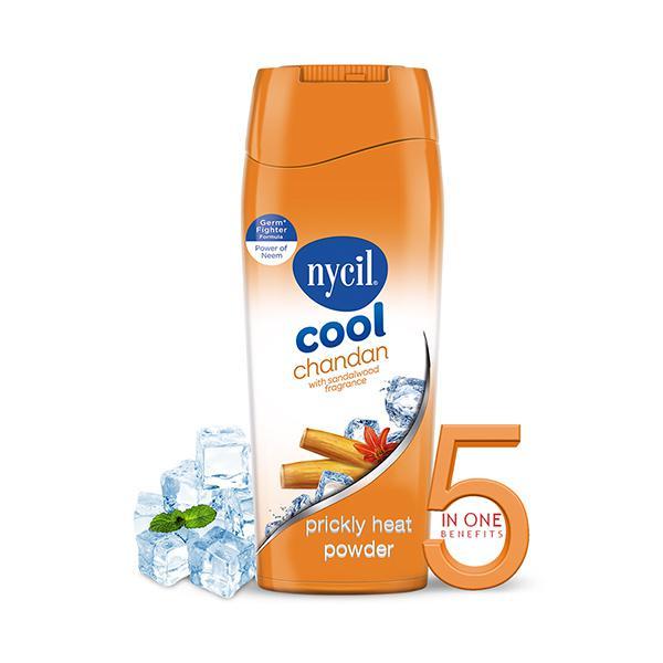 Nycil Germ Expert Prickly Heat Powder - Cool Sandal 150 gm