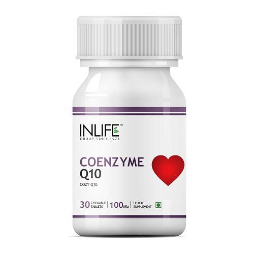 INLIFE Coenzyme Q10 100 Mg Chewable Tablets 30's