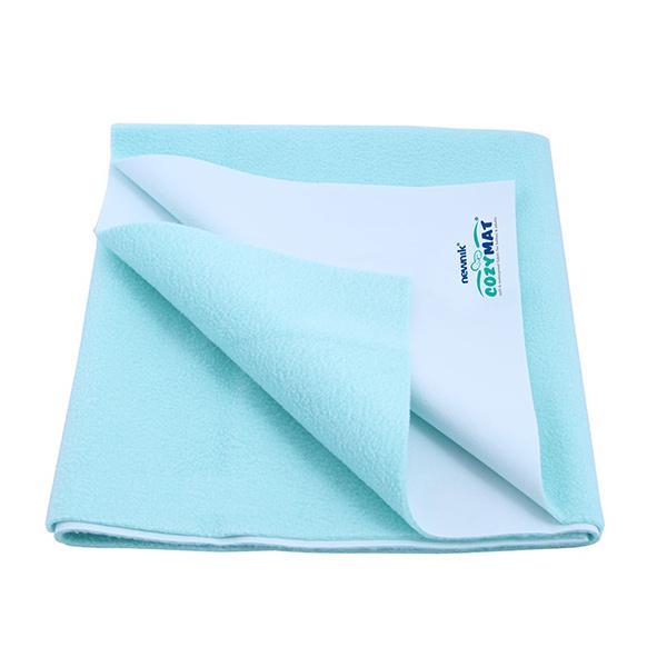 Cozymat Waterproof Bed Protector (M) - Sea Green