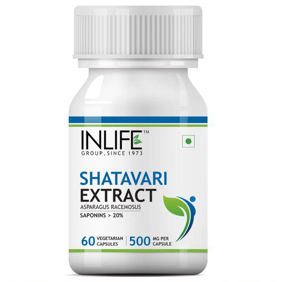 INLIFE Shatavari Extract Capsules 60's
