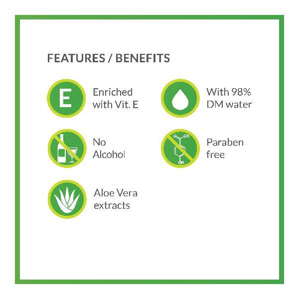 BodyGuard Premium Baby Wet Wipes with Aloe Vera Extract (Pack of 2 x 72's)